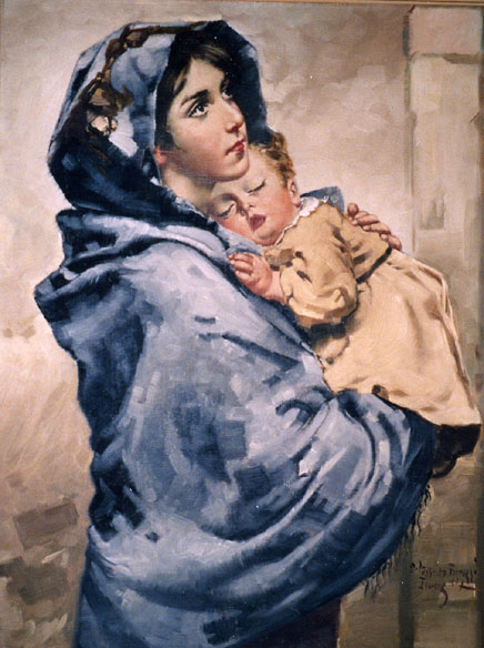 The Madonna of the Streets by Roberto Ferruzzi