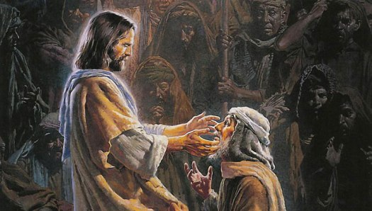 Jesus Heals The Blind Man Deacon Rudy S Notes